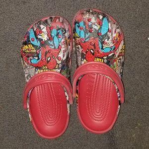 Spiderman Crocs